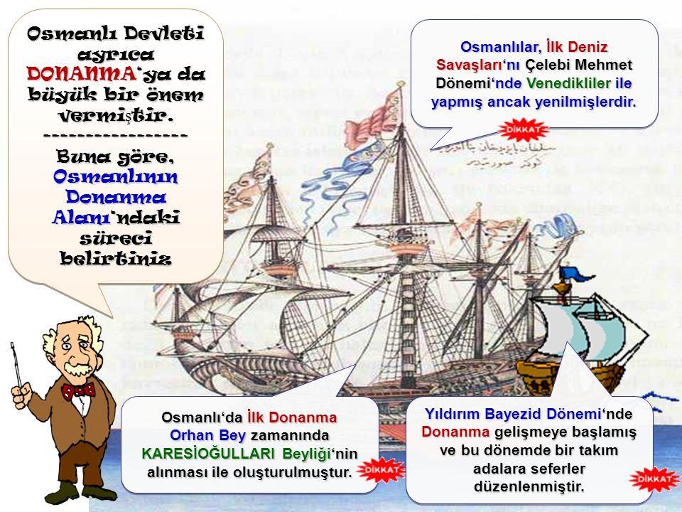 Osmanlı Devleti'nde di ğ er önemli Askeri Birimlere bakalım Osmanlı Devleti'nde di ğ er önemli Askeri Birimlere bakalım YARDIMCI KUVVETLER Bir savaş z