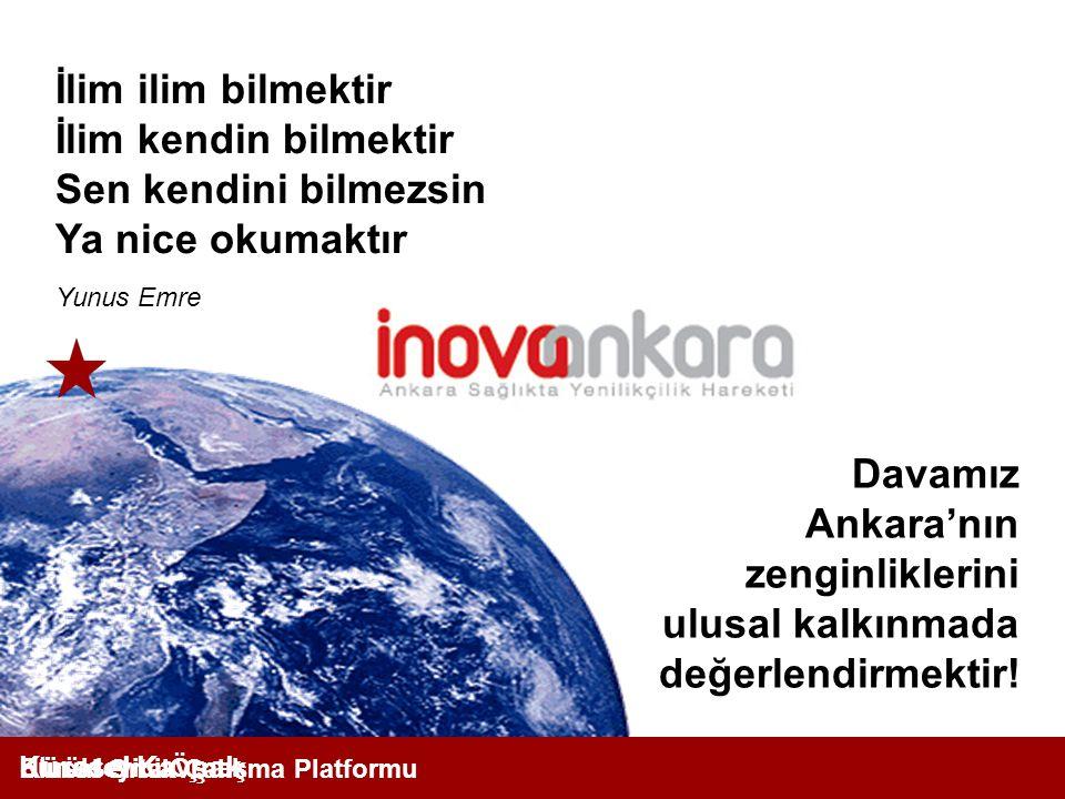 Davamız Ankara'nın zenginliklerini ulusal kalkınmada değerlendirmektir.