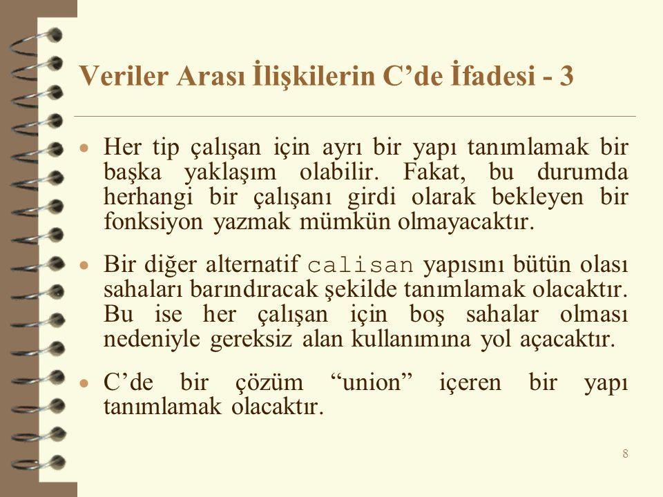 Çoklu Kalıtım - 6 class B_Baskan : public Akademisyen, public Idari { public: B_Baskan() {cout << Yap.Fonk.-B_Baskan!\n ; }...