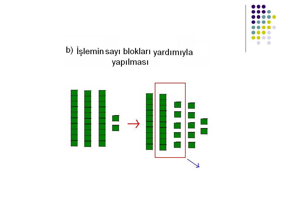 2) Gruplanmış sayılarla çıkarma