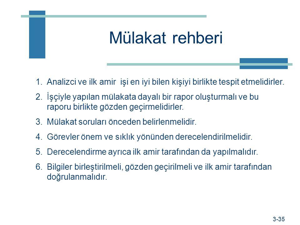 Prof. Dr. Hüner Şencan / İstanbul Ticaret Üniversitesi Örnek sorular -2 s İşinizde normal başarı standardı var mıdır ve nedir? s Çevre ve çalışma koşu
