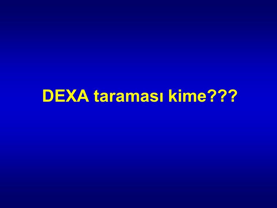 DEXA taraması kime???