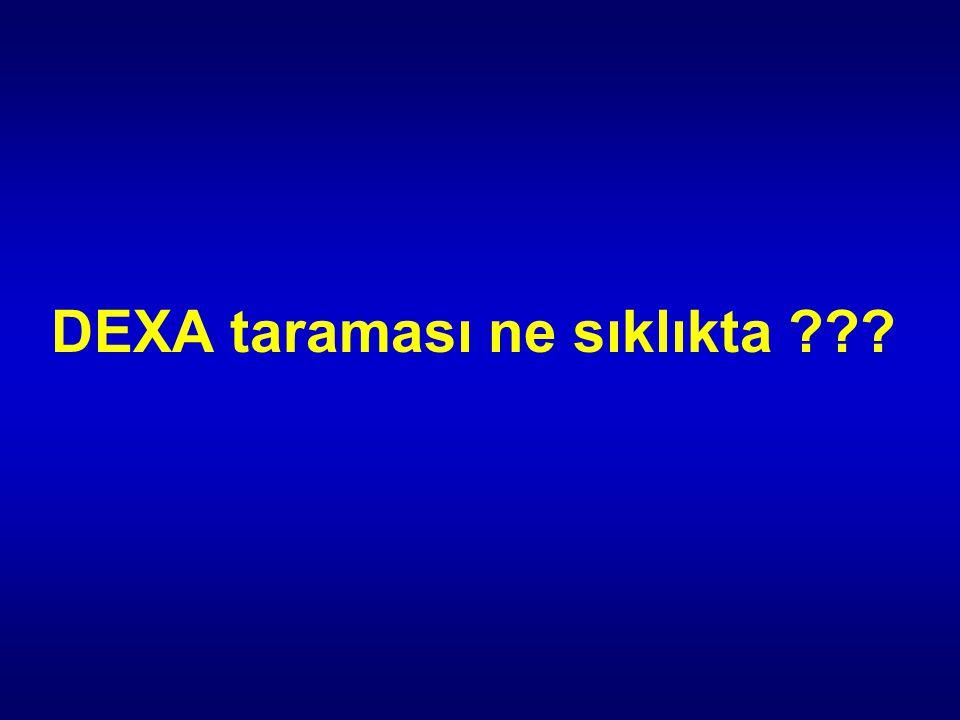 DEXA taraması ne sıklıkta ???