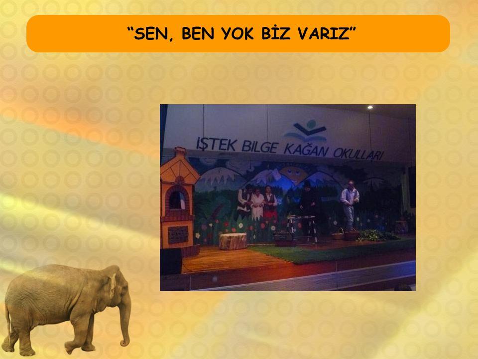 """""""SEN, BEN YOK BİZ VARIZ"""""""