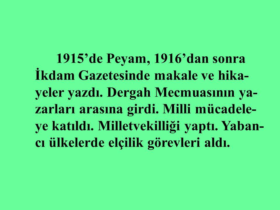 YAKUP KADRİ KARAOSMANOĞLU 20.y.y. Yazarlarındandır. İlk ve orta tahsilini Manisa,İzmir ve İskenderiye de tamamladı. 1908'de İstanbul'a geldi. Yazı hay
