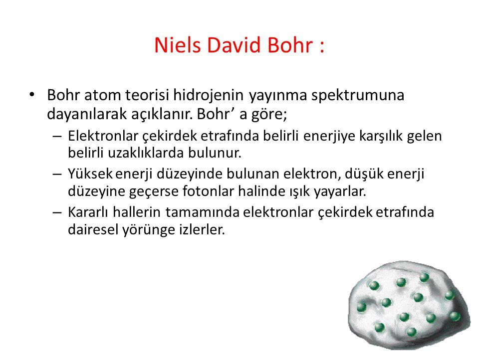 b) Bileşikler : İki ya da daha fazla çeşit element atomunun bir araya gelerek oluşturdukları yeni saf maddeye bileşik denir.