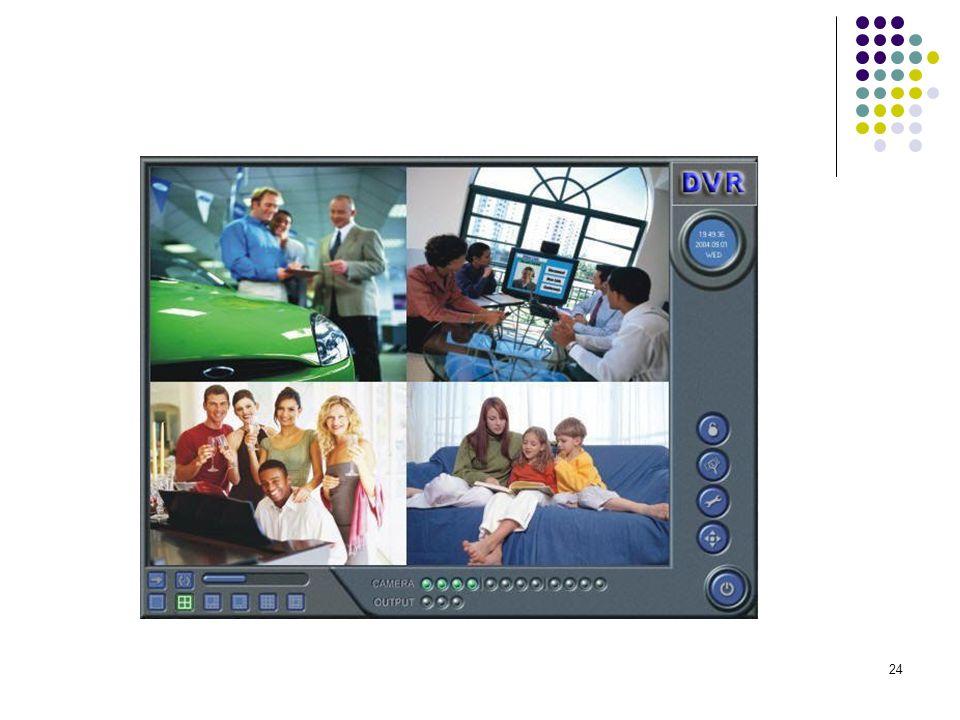 25 ELEKTRONİK GÜVENLİK SİSTEMLERİ 8)- Multiplexer (Çoklayıcı) Multiplexerler, tiplerine göre 4, 8, 9, 10, 16 ya da 32 kameranın görüntülerinin, monitör ekranını kamera sayısı kadar yada istenildiği sayıda bölerek ekrandan aynı anda izleme ve/veya aynı anda tek bir kayıt cihazına tam ekran görüntüsü olarak kayıt edilmesini sağlayan cihazlardır.