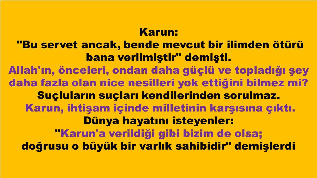 Karun: