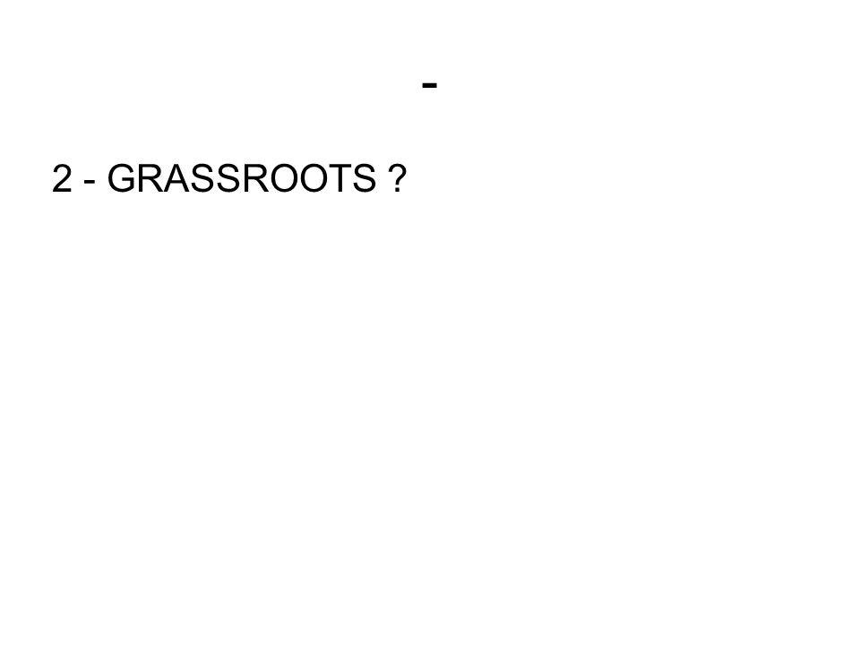 - 2 - GRASSROOTS