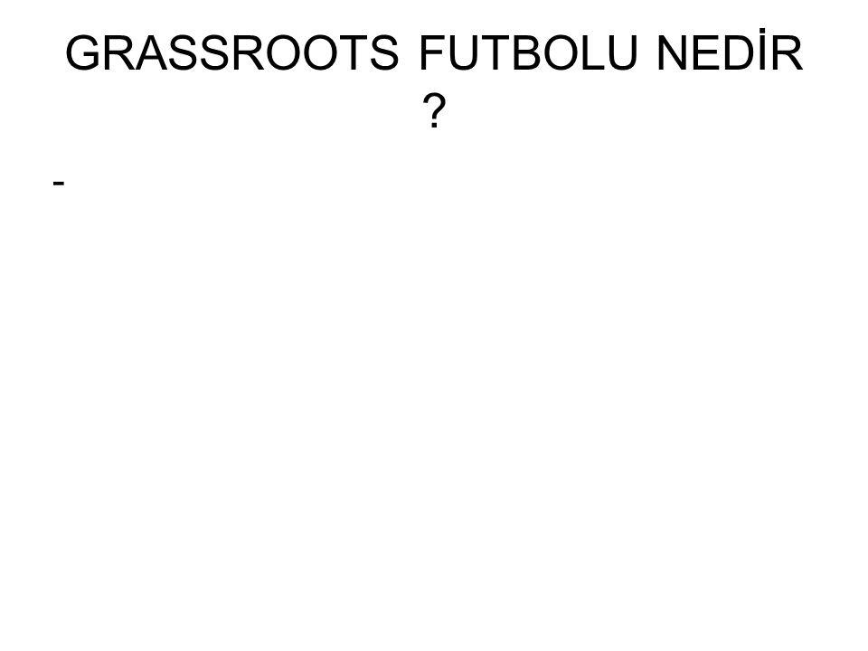 GRASSROOTS FUTBOLU NEDİR -