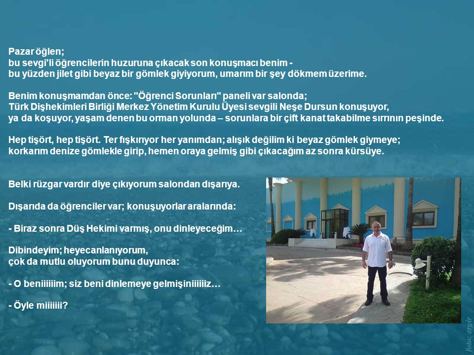 Türk Dişhekimleri Birliği 5. Ulusal Öğrenci Kongresi.