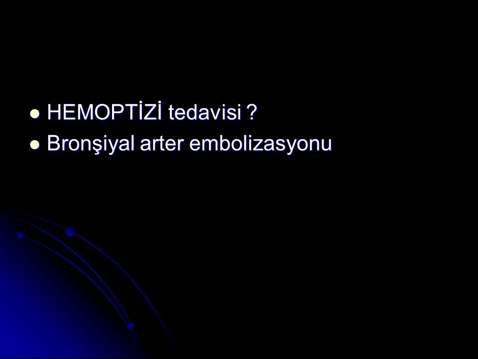 TORAKS BT (17/05/07): sol akciğer üst lob apikoposterior segment düzeyinde yaygın sekel fibrotik değişiklikler izlenmiştir.