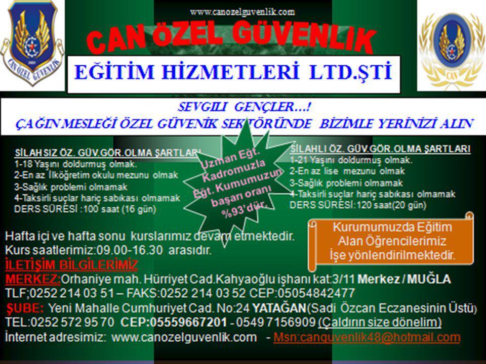www.canguvenlik.com2 Can Özel Güvenlik Eğt.