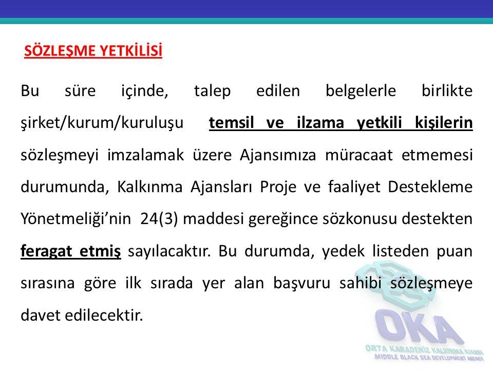 Türkiye Halk Bankası'nda başvuru sahibi şirket/kurum/kuruluş adına açtırılacak projeye özel banka hesabı üzerinden gerçekleştirecektir.