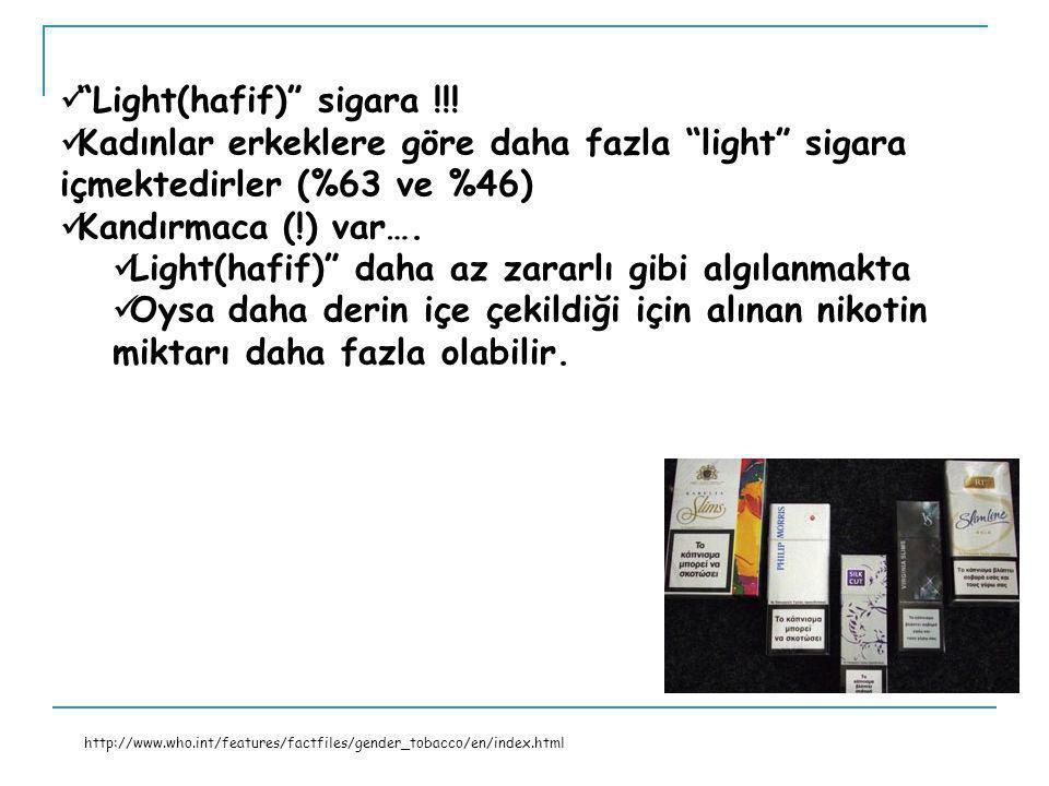 Light(hafif) sigara !!.