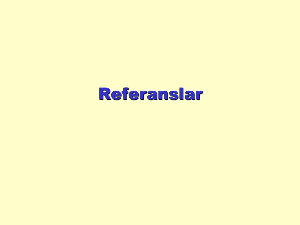 Örnek yapılandırıcılar (Constructor) class Rectangle { private int length, width; private String name; public Rectangle () { setLength(0); setWidth(0); setName( Unnamed ); } // constructor public Rectangle (int l, int w) { setLength(l); setWidth(w); setName( Unnamed ); } // constructor public Rectangle (int l, int w, String n){ setLength(l); setWidth(w); setname(n); } // constructor
