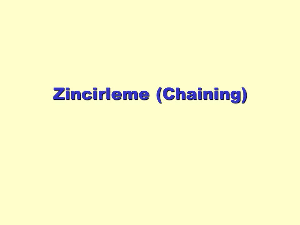 Zincirleme (Chaining)