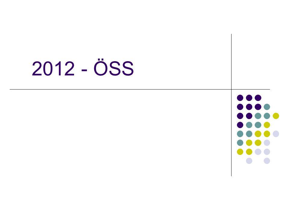 2012 - ÖSS
