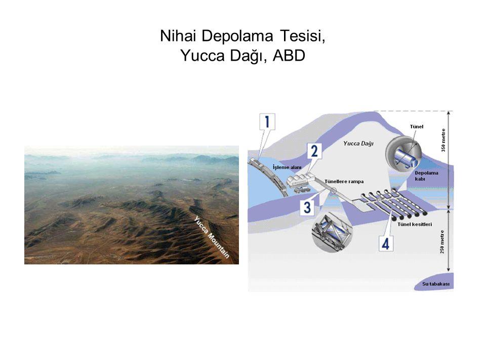Nihai Depolama Tesisi, Yucca Dağı, ABD