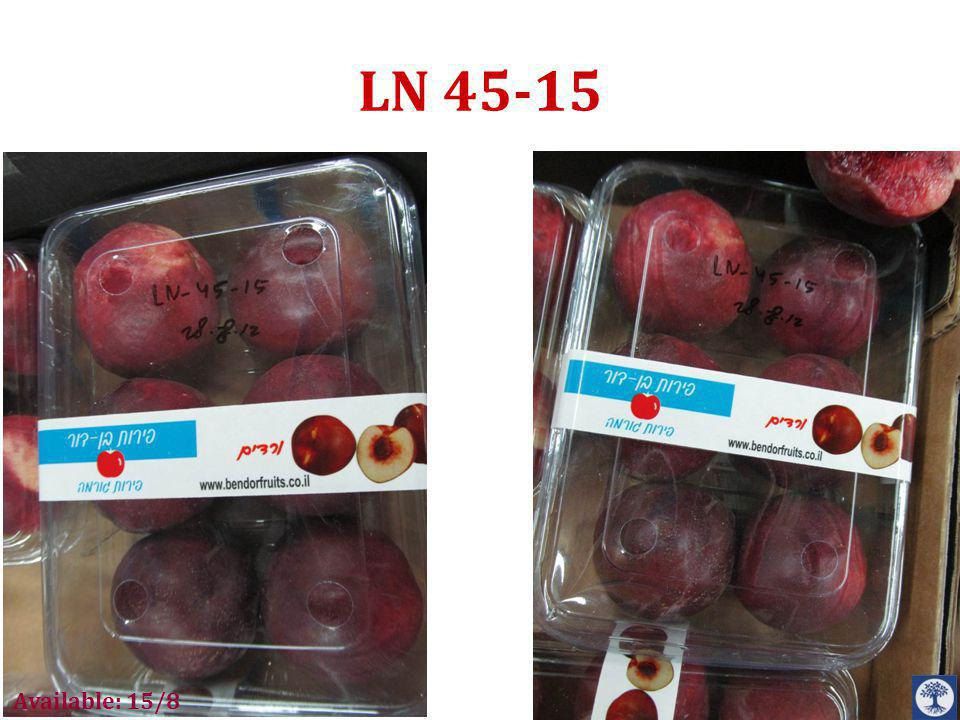LN 45-15 Available: 15/8