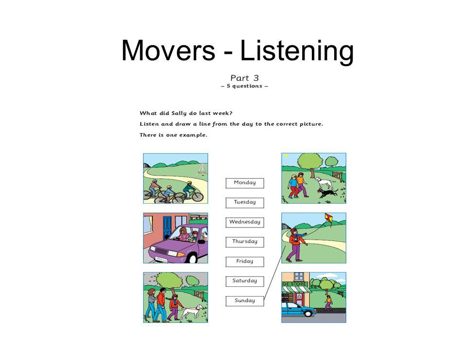 Movers - Listening