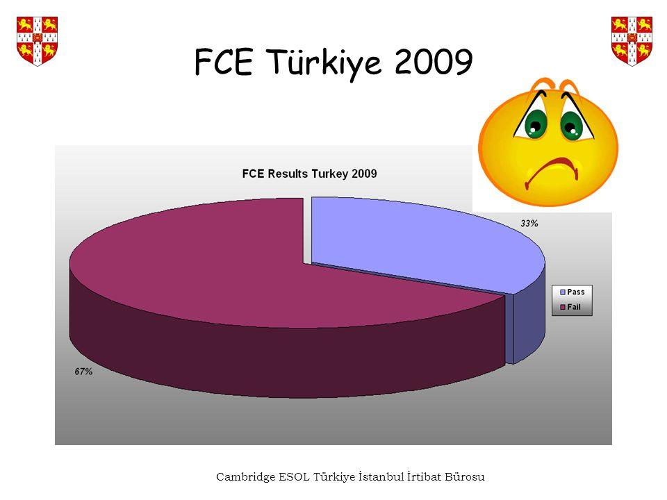 FCE Türkiye 2009 Cambridge ESOL Türkiye İstanbul İrtibat Bürosu