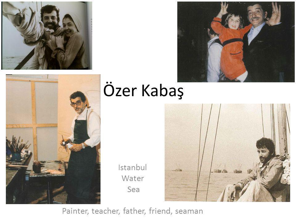 Özer Kabaş's Sea Paintings
