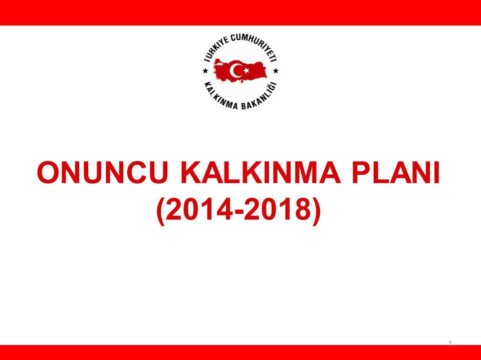 ONUNCU KALKINMA PLANI (2014-2018) HH 1
