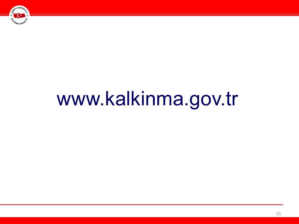 www.kalkinma.gov.tr 35