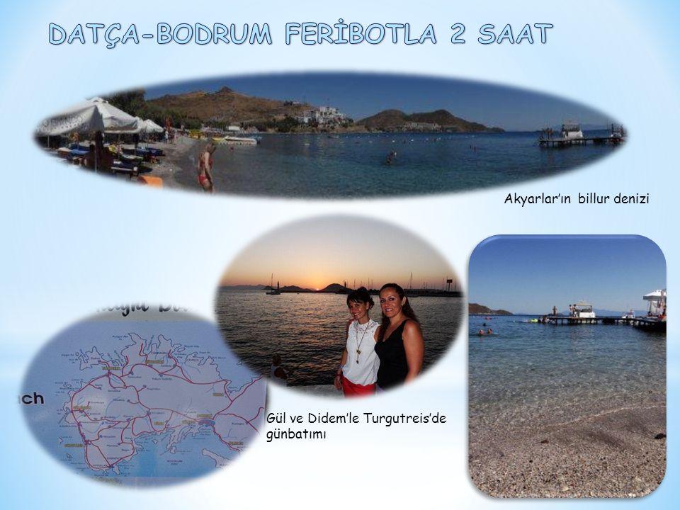 Akyarlar'ın billur denizi Gül ve Didem'le Turgutreis'de günbatımı