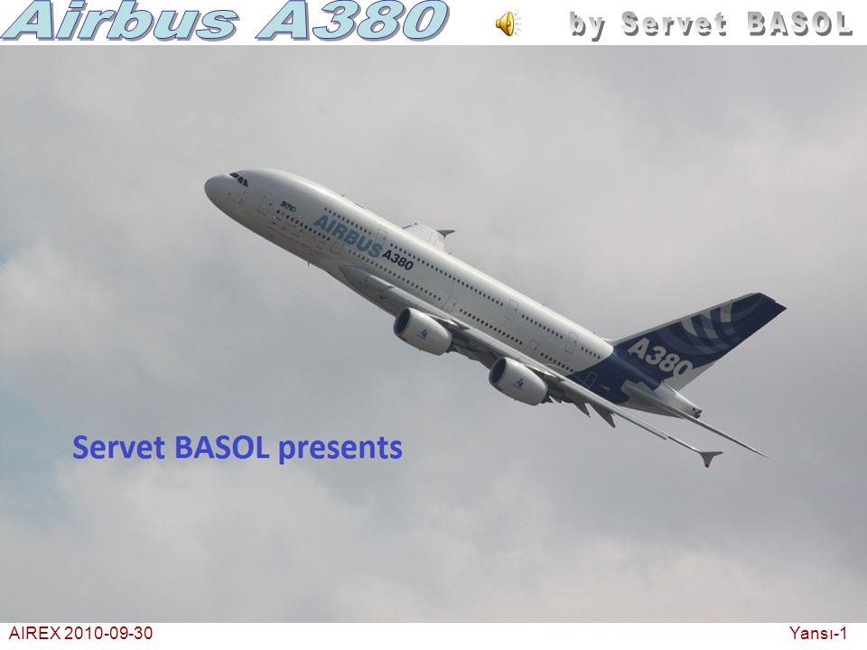 AIREX 2010-09-30Bir turboprop resim ve film çekmek için yaklaşıyor.. Yansı-22