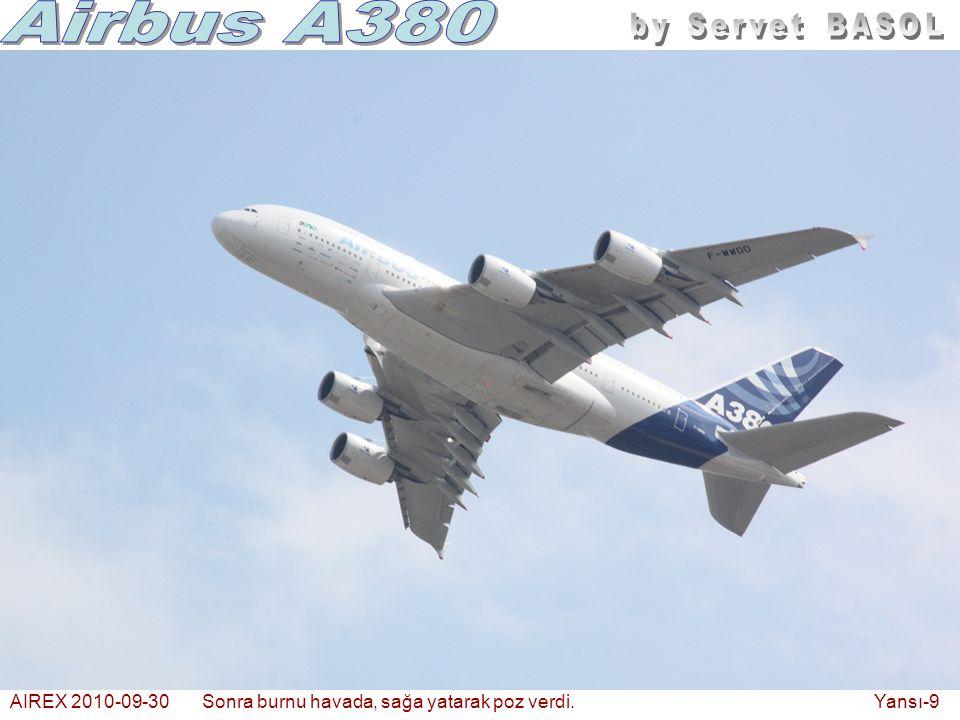 AIREX 2010-09-30Sonra burnu havada, sağa yatarak poz verdi. Yansı-9