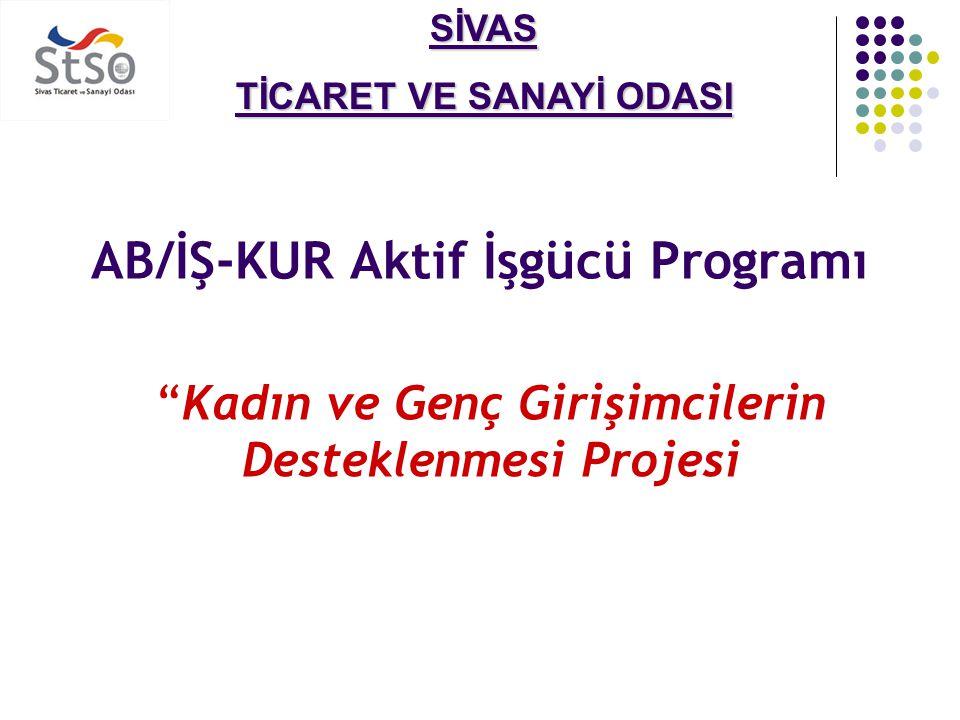 SİVAS TİCARET VE SANAYİ ODASI  Proje Süresi:  Proje Süresi: 12 Ay  Proje Bütçesi:  Proje Bütçesi: 95,000 Euro  Hedef Gruplar: Kadınlar, Gençler, Küçük aile işletmeleri.