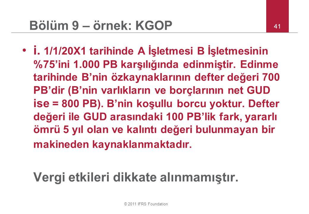 © 2011 IFRS Foundation 41 i.