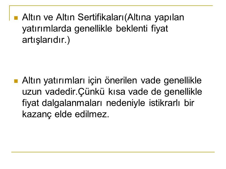 Menkul Kıymet Yatırım Fonları Menkul Kıymet Yatırım Fonları : Türkiye'de MKYF kurmak,önceleri sadece bankalara tanınmış bir haktı.Sermaye piyasasının gelişmesi doğrultusunda,bankaların yanı sıra,sigorta şirketleri,aracı kurumlar,kanunlarda engel bulunmayan emekli ve yardım sandıkları yatırım fonu kurabileceklerdir.