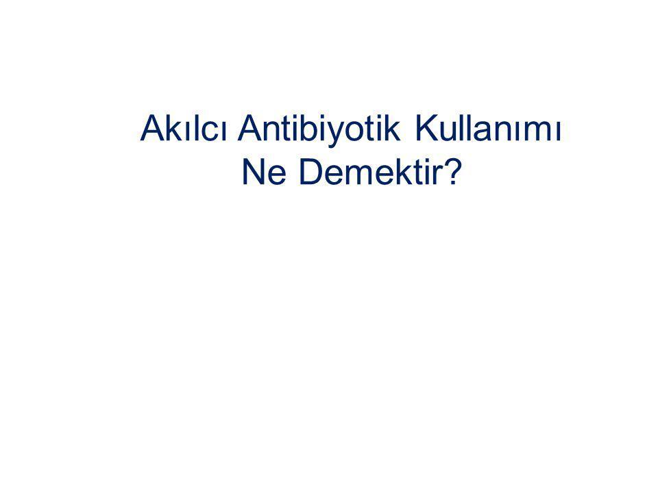 Akılcı Antibiyotik Kullanımı Ne Demektir?