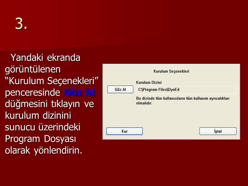14.Yandaki ekran, tüm DynEd yazılımlarının güncel olduğunu göstermektedir.