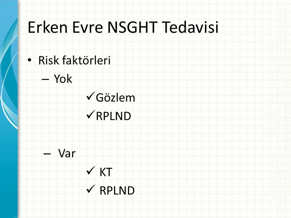 Risk faktörleri – Yok Gözlem RPLND – Var KT RPLND