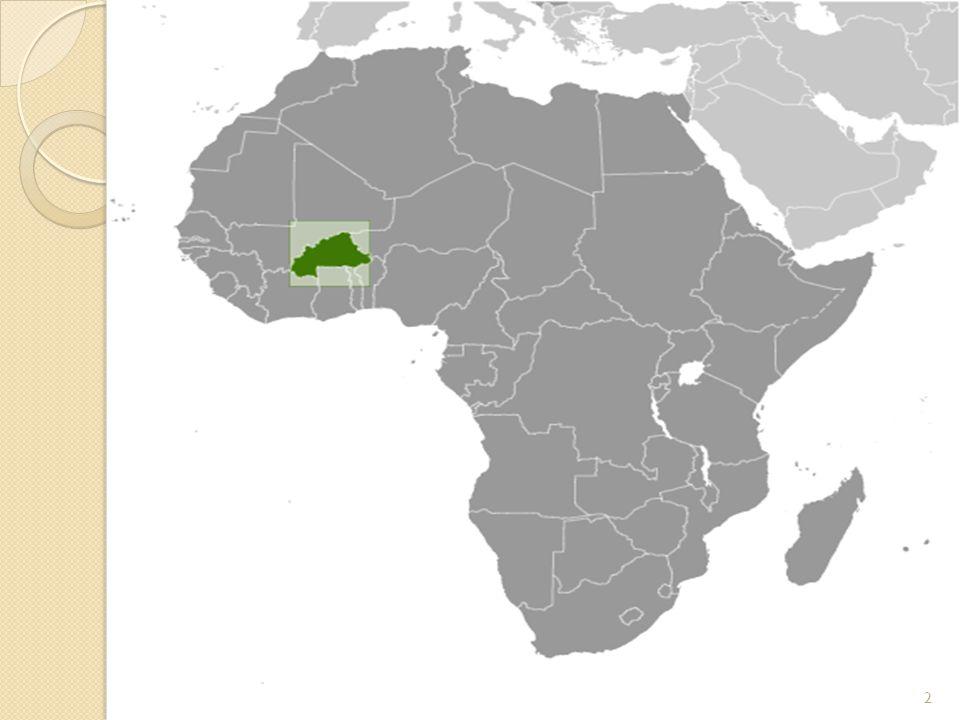 Sanayi tesislerinin ço ğ u Banfora, Bobo, Dioulasso, Boromo, Koudougou ve Ouagadougou arasındaki demiryolu boyunca bulunur.