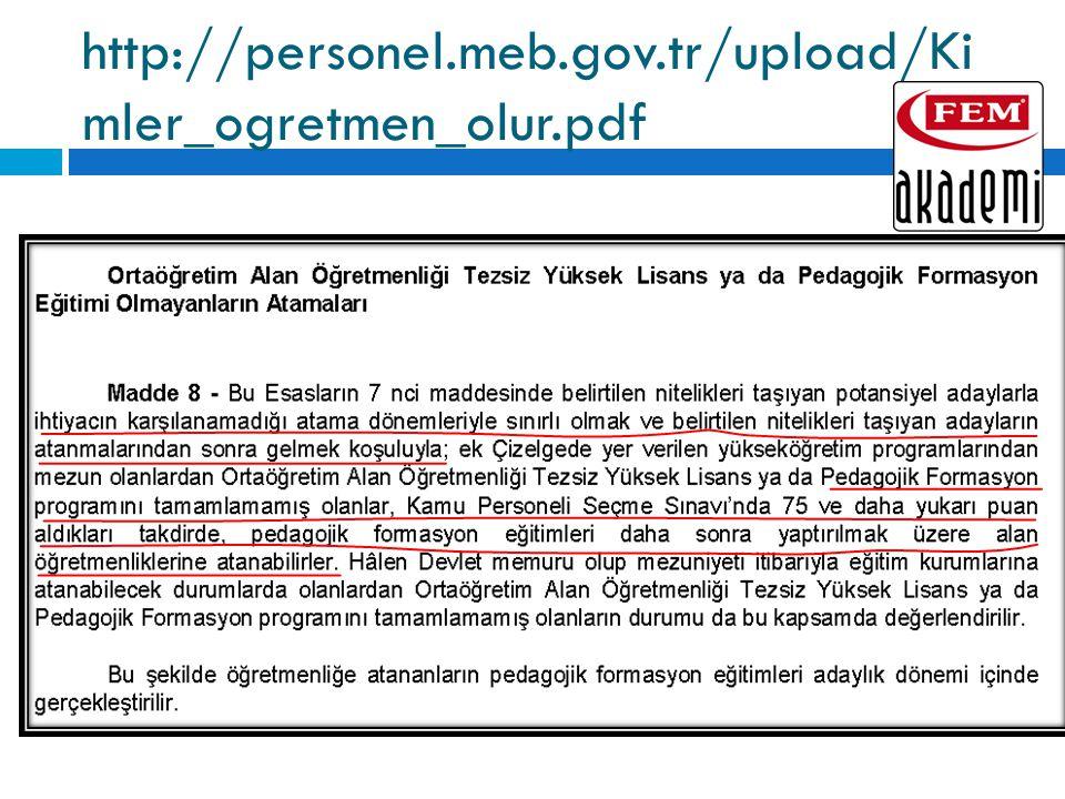 http://personel.meb.gov.tr/upload/Ki mler_ogretmen_olur.pdf