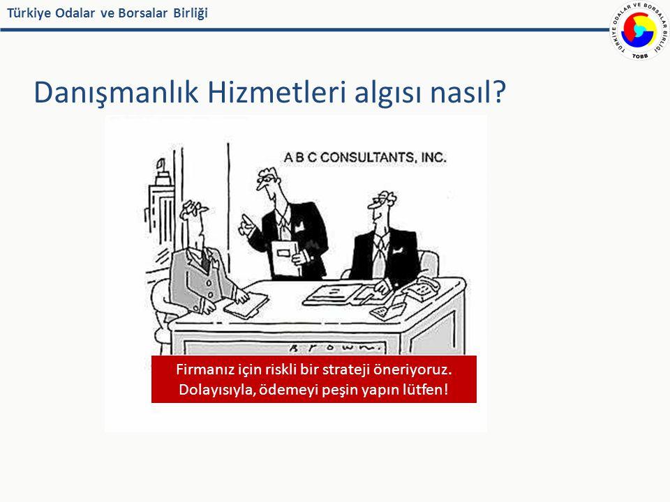 Türkiye Odalar ve Borsalar Birliği Danışmanlık Hizmetleri algısı nasıl.