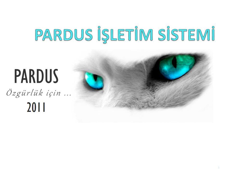 Pardus 2011 2011'de: Pardus 2011 duyurulmuştur 2011.1: Dama dama (Alageyik) 2011.2: Cervus elaphus (Kızıl Geyik) Güncelleme sürümleri yayınlanmıştır.