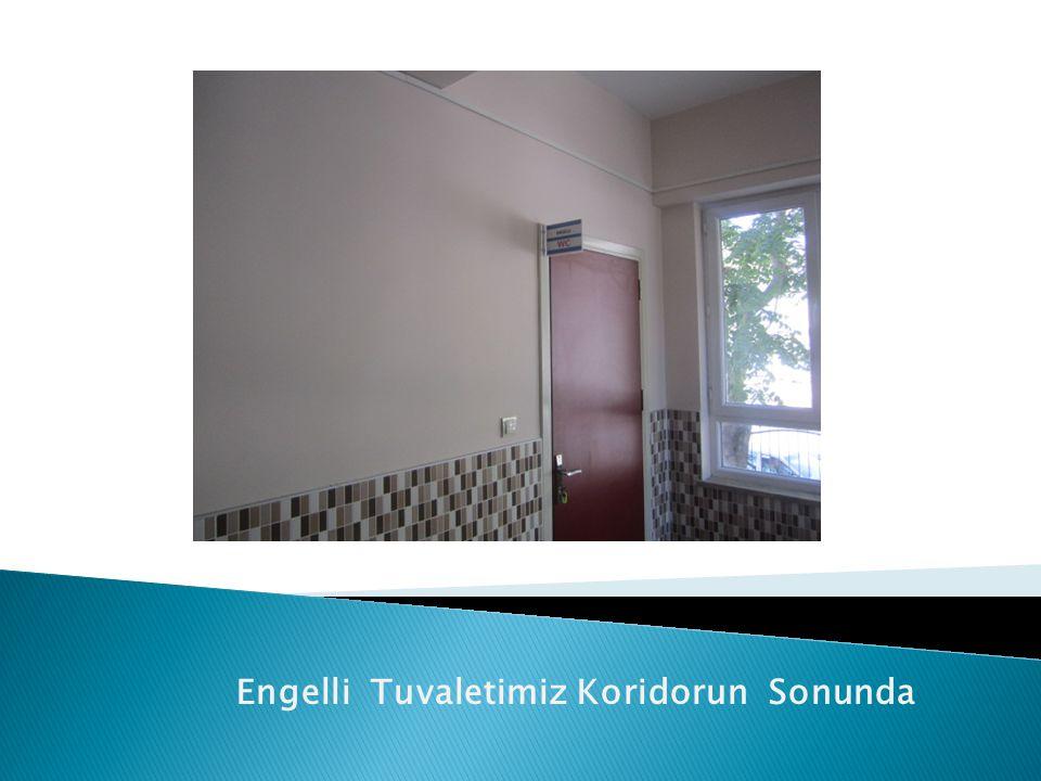 Engelli Tuvaletimiz Koridorun Sonunda