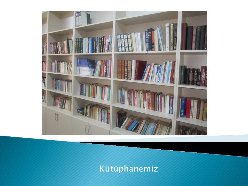 Kütüphanemiz