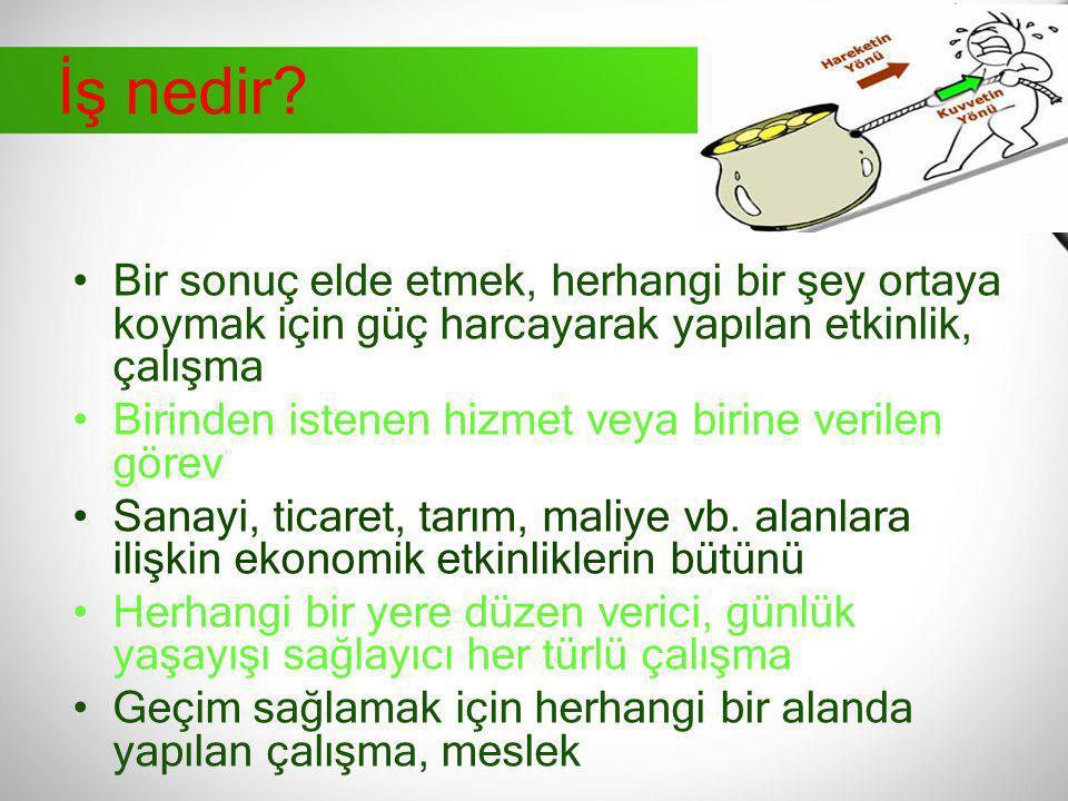 Türkiye'de İSG Tarihi Gelişimi Cumhuriyet döneminde İSG: Cumhuriyetin ilk yıllarında hafif sanayi denilen gıda, dokuma, dericilik gibi alanlarda yoğunlaşmış bir sanayi bulunmaktadır.