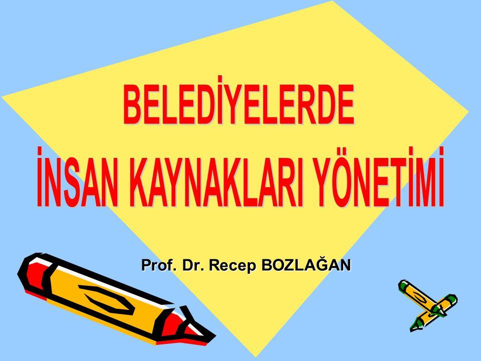 Prof. Dr. Recep BOZLAĞAN