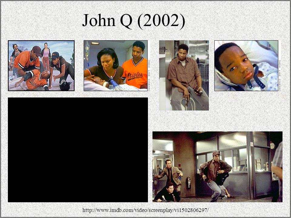 3 John Q (2002) http://www.imdb.com/video/screenplay/vi1502806297/