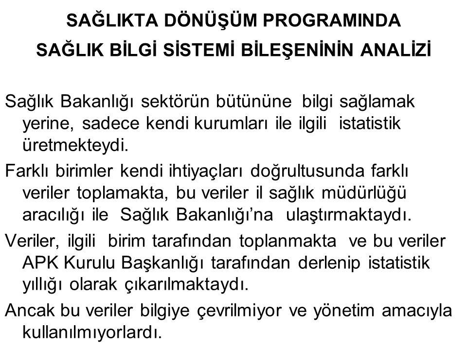 SONUÇ Türkiye'nin ülke sistemi değişmiştir.