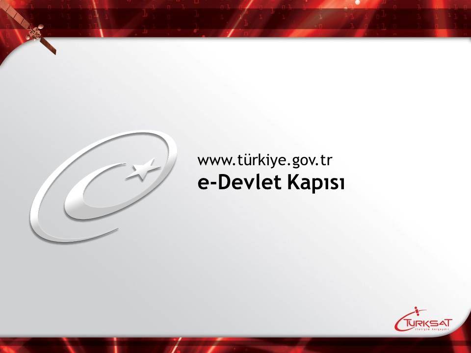 www.türkiye.gov.tr e-Devlet Kapısı