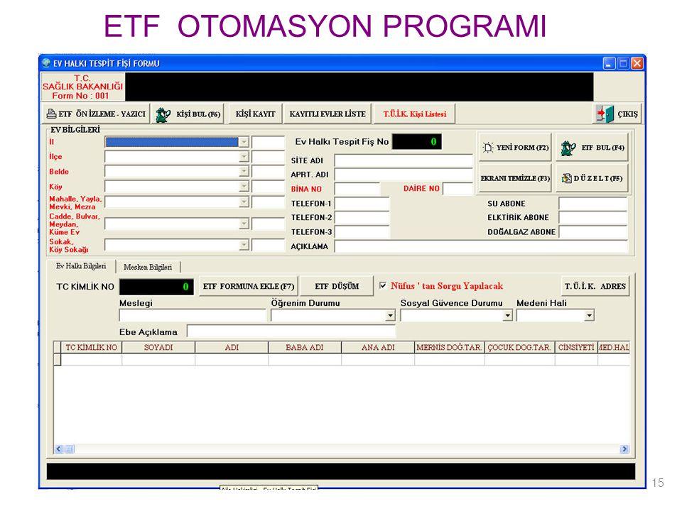 ETF OTOMASYON PROGRAMI 15